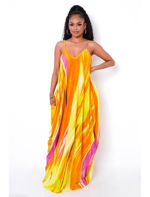 Blister In The Sun Maxi Dress