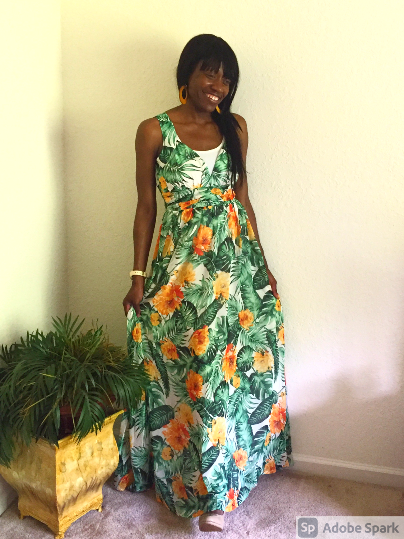 Caribbean Maxi Dress