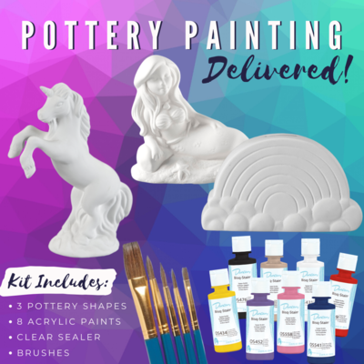 Magical Deluxe Pottery To-Go Kit