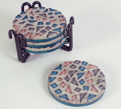 BOHO Mosaic Coaster Kit