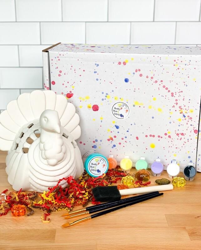 Deluxe Turkey Lantern Art Box