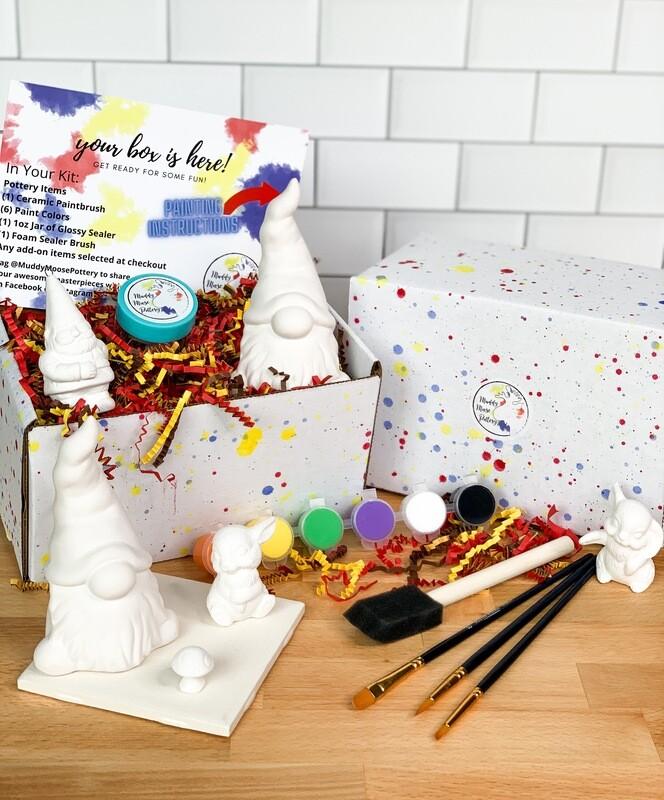 Deluxe Gnome Art Box