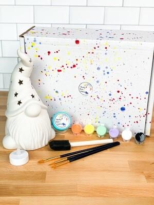 Deluxe Gnome Lantern Art Box