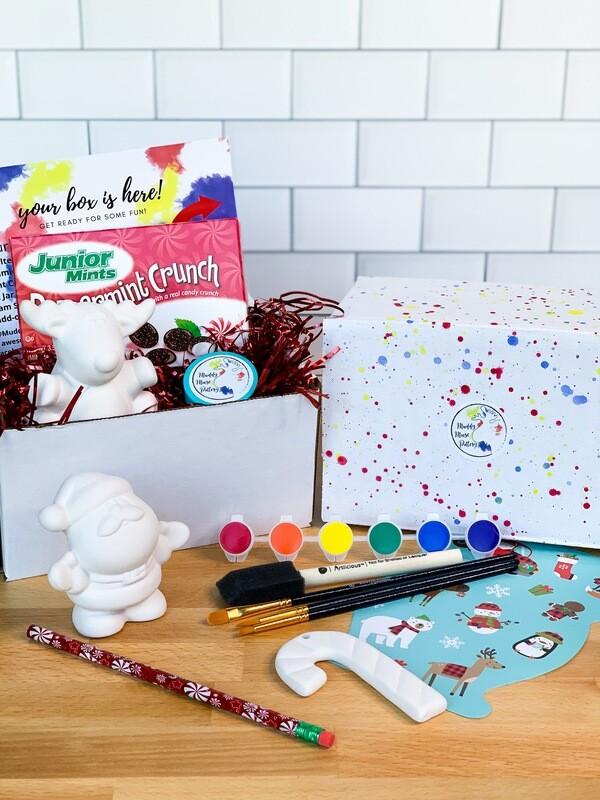 Deluxe Christmas Art Box