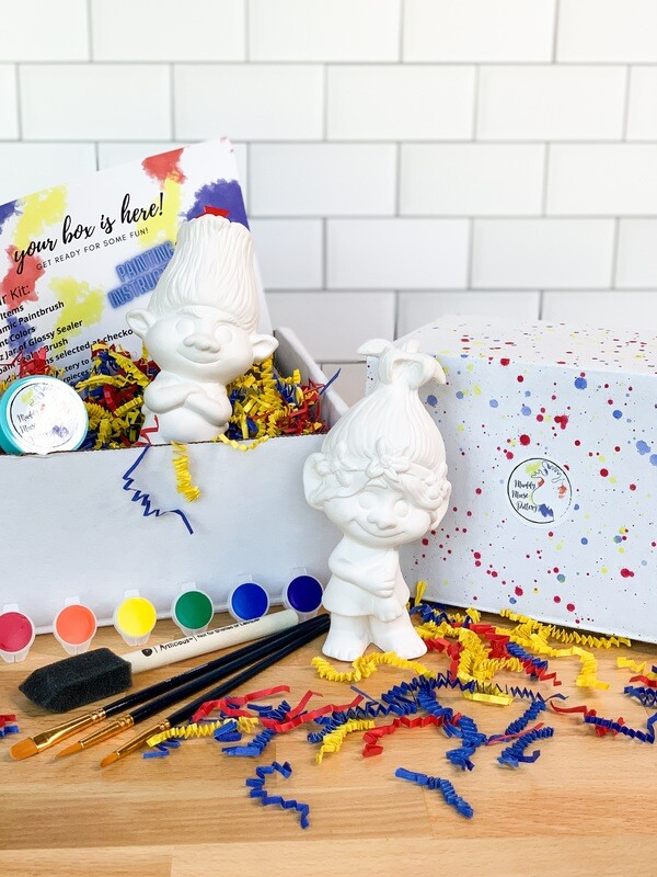 Deluxe Trolls Art Box