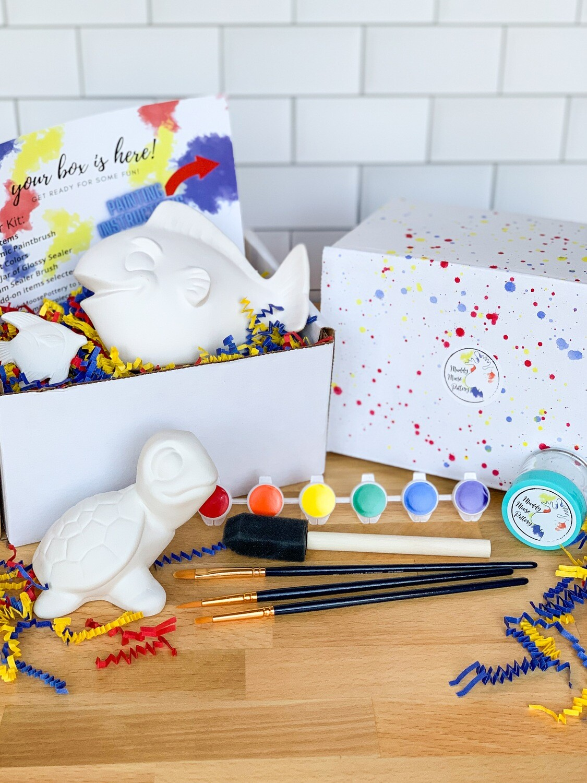 Deluxe Turtle & Fish Art Box