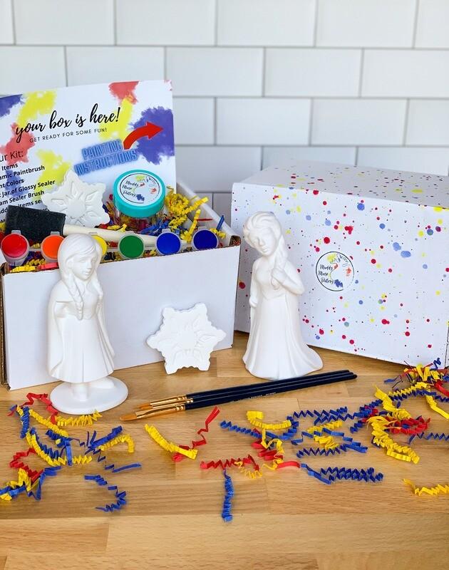 Deluxe Ice Queen & Ice Princess Art Box