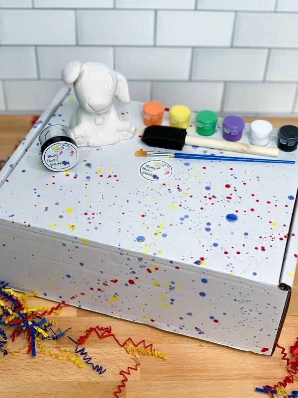 Standard Dog Art Box