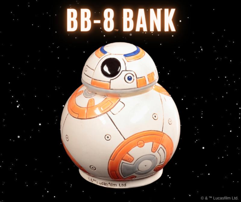 Deluxe Star Wars BB-8 Bank Art Box