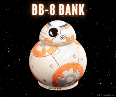 Deluxe Star Wars BB-8 Bank Art Box
