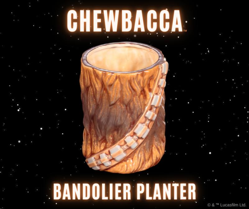 Deluxe Star Wars Chewbacca Bandolier Planter Art Box