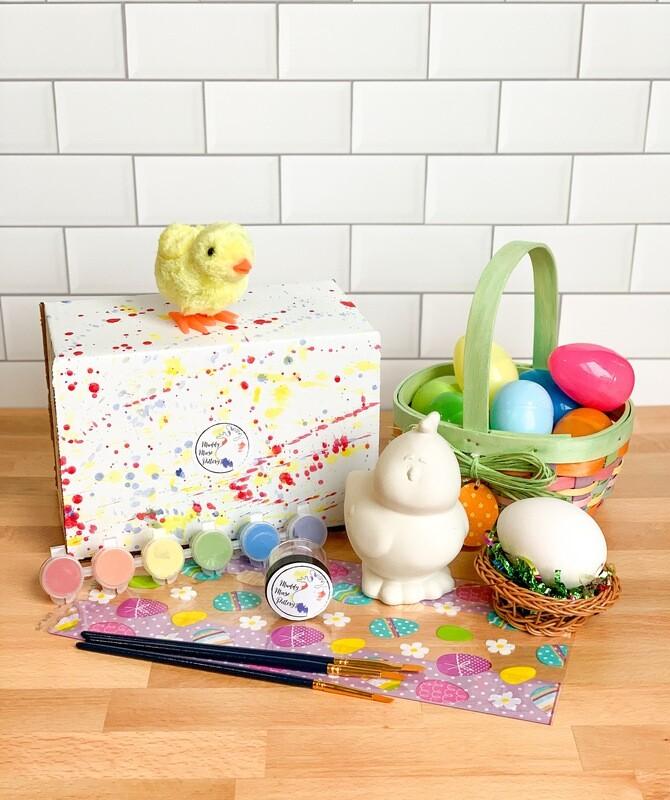 Deluxe Chick & Egg Art Box