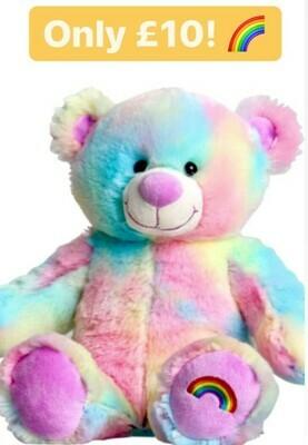 """10"""" Rainbow Bear Activity Pack"""