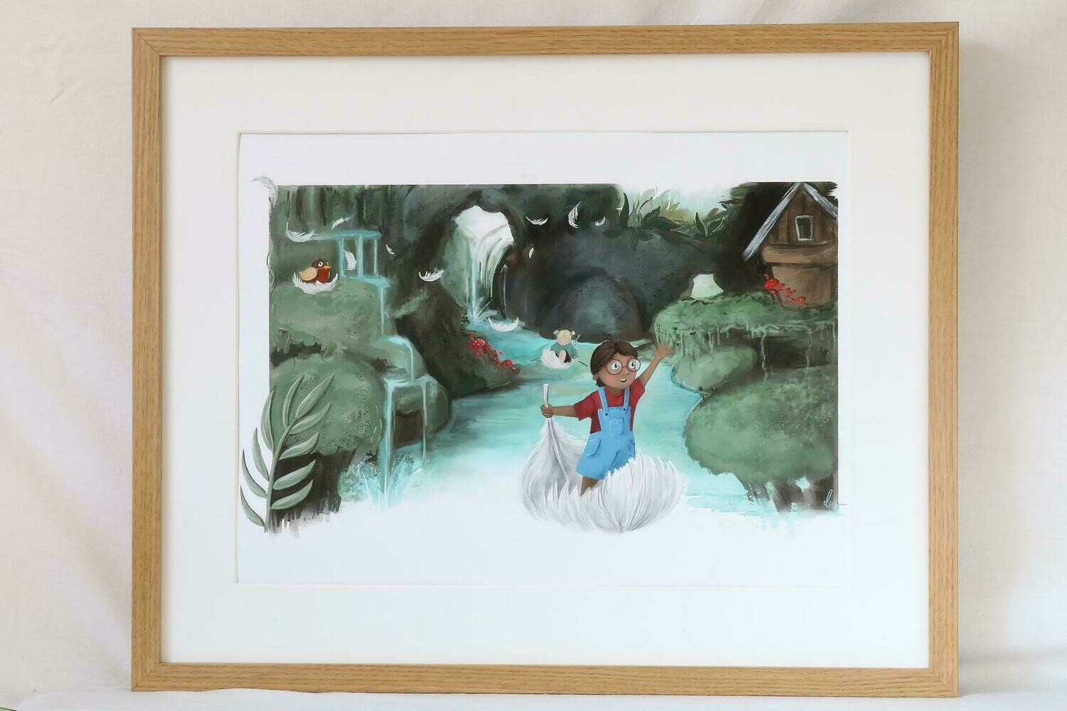 Reflection - A3 Limited Edition Giclee Print