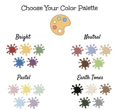 Color/ Paint Palettes