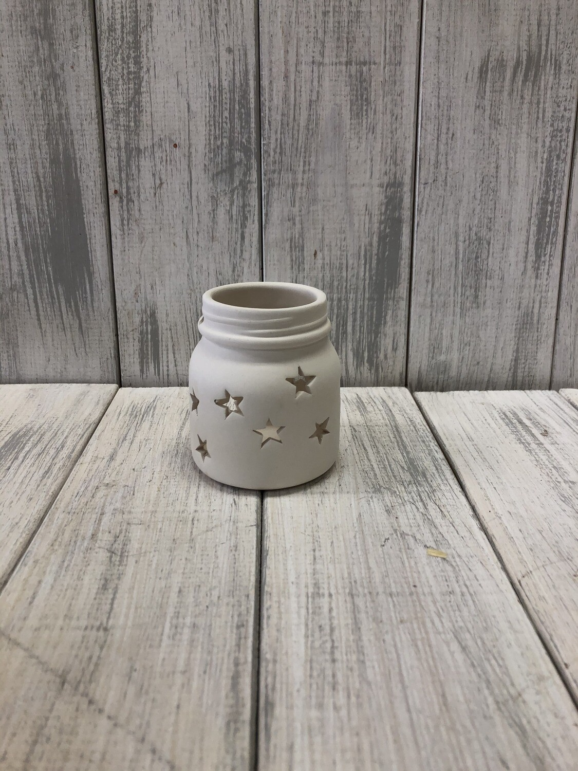 Small Jar Star Lantern