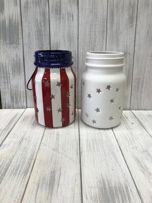 Large Jar Star Lantern