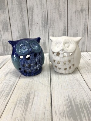 Small Owl Votive