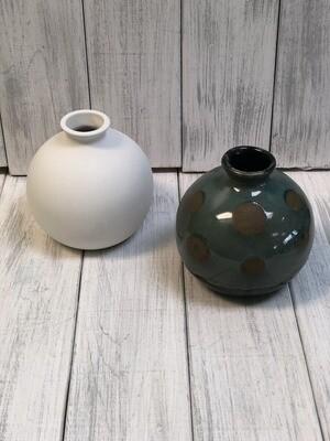 Ball Shaped Vase