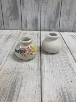 Round Jar With Cork