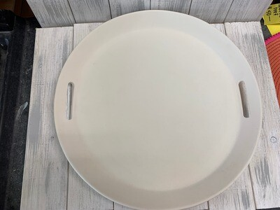 """2 Handled 16"""" Round Serving Tray"""