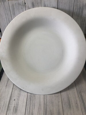 "18.5"" Round Rim Platter"