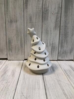 Animated Christmas Tree Votive