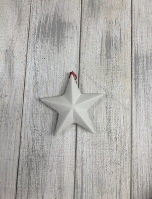 Faceted Star 3D Ornament