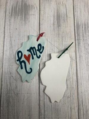 Illinois State Ornament