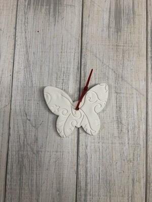 Butterfly Textured Ornament
