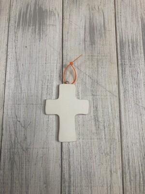 Flat Cross Ornament