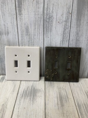 Switch Plate - Double