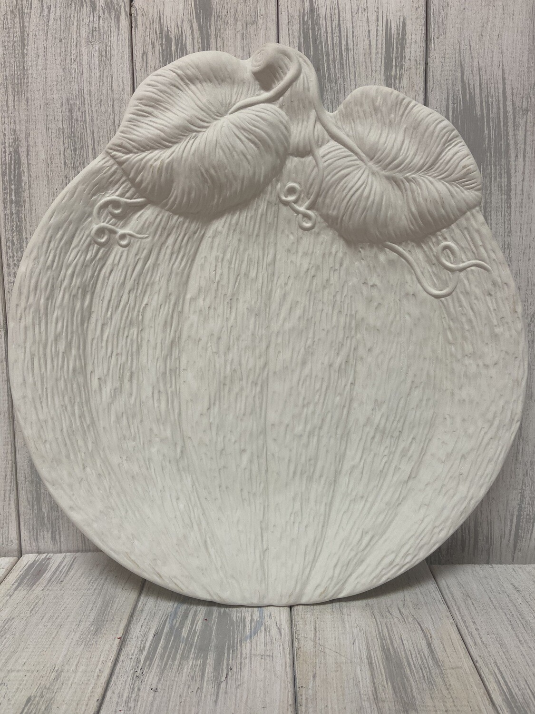 Textured Pumpkin Plate
