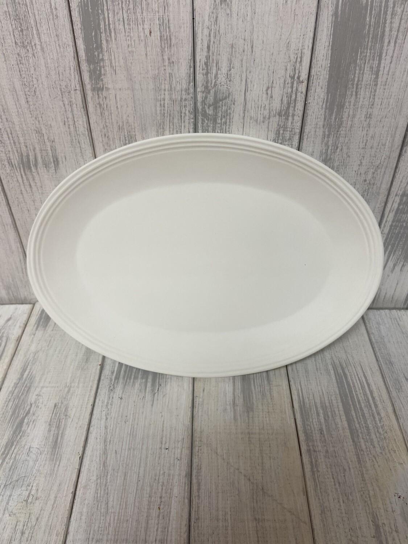 Stoneware Oval Platter