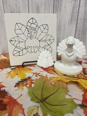 Thanksgiving Turkey Party Tile To-Go Kit