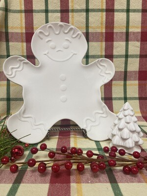 Christmas Gingerbread Plate To-Go Kit