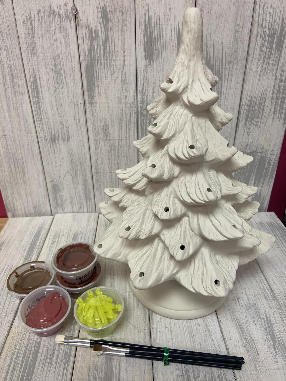 """Medium 12"""" Christmas Tree To-Go Kit"""