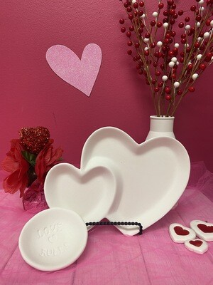 Double Heart Dish To-Go Kit