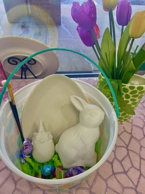 Easter Bucket To-Go Kit