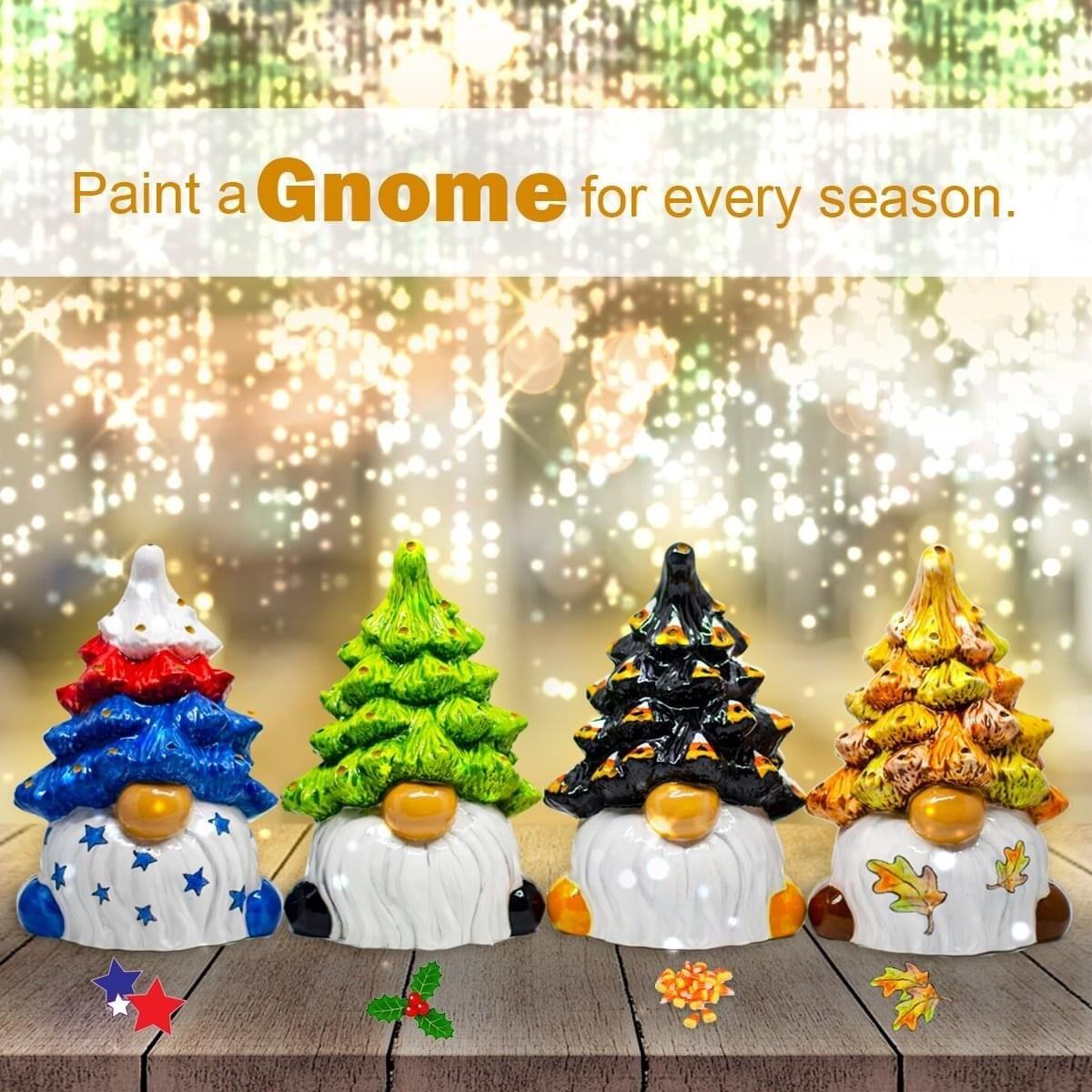 Christmas Tree Gnome Lantern PREORDER