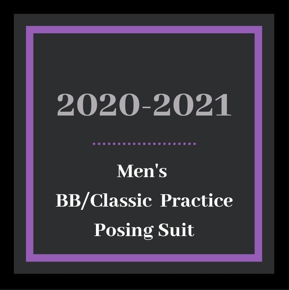 Men's BB/Classic Practice Posing Suit