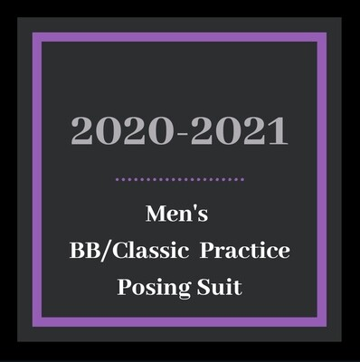 Men's BB/Classic Practice Posing Suit
