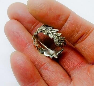 Anello corona d'alloro