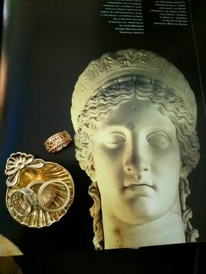 CIVIS ROMANUS SUM, anello in bronzo, Roma, impero romano.