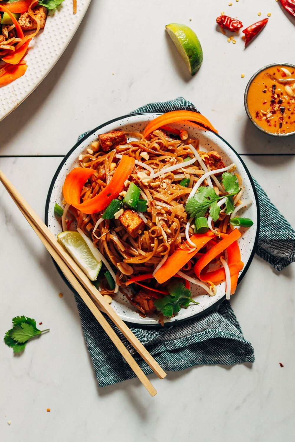 THE SHEPPEY PAD THAI WITH TOFU