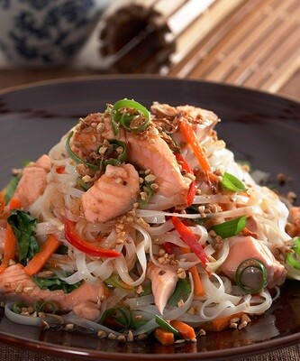 THE SHEPPEY PAD THAI WITH PRAWNS