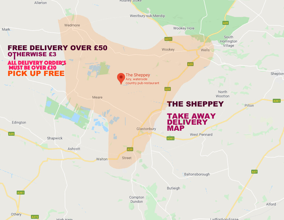 DELIVERY MAP THURSDAY-SATURDAY