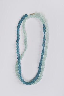 Collier bi-couleur plexiglas