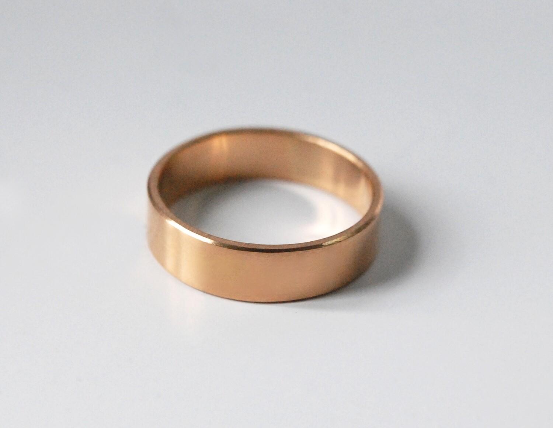 Alliance Ruban en or pour femme et pour homme