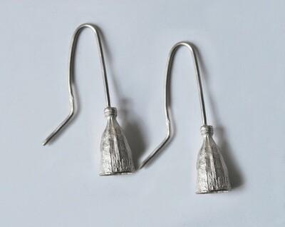 Boucles d'oreilles Pavot en argent 925